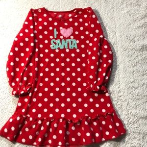 Girls holiday nightgown